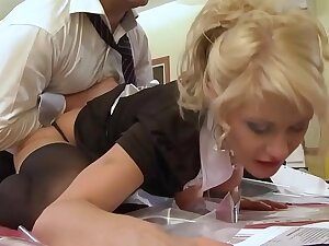 A student maid gets fucked by her teacher