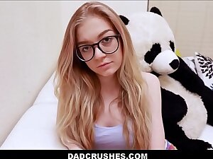 Young Nerdy Step Daughter Jadyn Hayes Sex With Step Papa For Not Brobdingnagian Dam About Getting Suspended From School