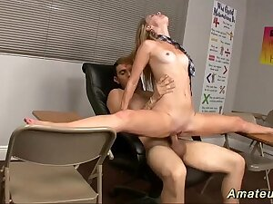 flexi schoolgirl loves acrobatic sex