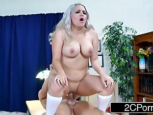 Curvy School Girl Alix Lovell Gets Pounded