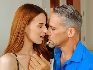 DADDY4K. Sex yon BF's dad is dazzling