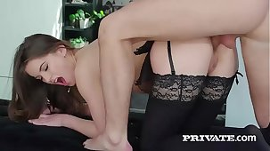 Evelina Darling, addicted to lingerie increased by and anal sex