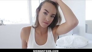 WOW Hot Teen Stepsister Charity Crawford Intercourse With Stepbrother After Boyfriend Breaks About With Her POV