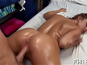 Hot 18 savoir vivre old girl gets fucked constant from behind by her rubber
