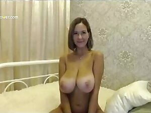 She Has Twosome Of The Dead beat Tits Deucedly in heaven's name ( Camgirlspower.com )