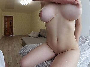 DOGGY Air TITS SHAKING CLOSE UP - MY TEEN GIRLFRIEND LOVES ANAL