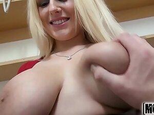 Random Sex with a Hot Czech Doll video starring Angel Wicky - Mofos.com