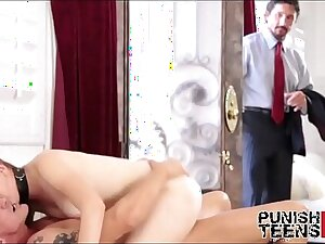 Cheating Bitch Plugged up At the end of one's tether Husband - PunishTeensHD.com