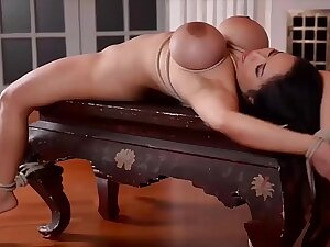 Anita B.'s Pussy and Ass Crammed by Two Masters in Intelligent DP BDSM Scene