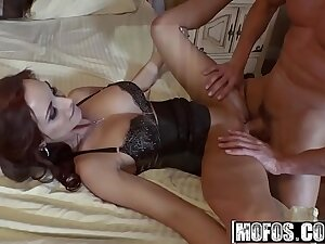 Mofos - Busted Babysitters - (Ashley Sinclair, Kimber Lee) - Threesome